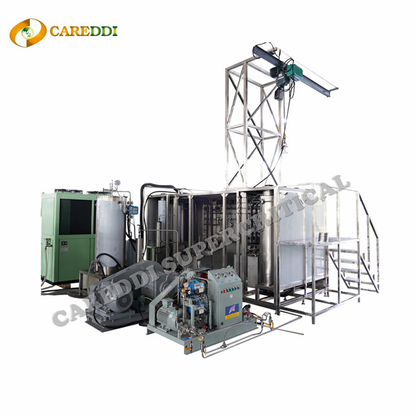 96L(24LX4) Medium Size Supercritical Co2 Extraction Machine