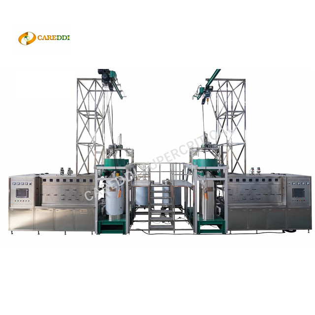 300l(150Lx2) Industrial Scale Supercritical Co2 Extraction Machine